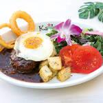 Kaila Cafe & Terrace Dining - カイラ特製ロコモコ