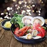 PIZZA SALVATORE CUOMO - 期間限定で魚介類をふんだんに使った鍋をご用意!!前日までのご予約のみ販売です。
