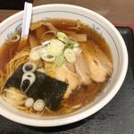 福しん - 手もみラーメン(チャーシュー2枚)税込390円