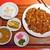 剛龍飯店 - サービスランチ(御飯大盛り)