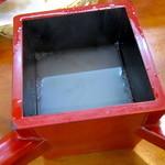 手打ちそば処 瓢亭 - やや濃厚な蕎麦湯