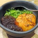 鮨 酒 肴 杉玉 - 炙りアン肝ポン酢¥399