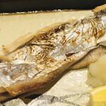 旬楽 飃 - 太刀魚塩焼き