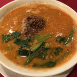 龍鳳 - 挽肉坦々麺(スープ多め)
