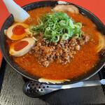 麺厨房 華燕 - スペシャル担々麺+麺大盛