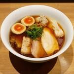 らぁ麺や 嶋 - ☆【らぁ麺や 嶋】さん…特製醤油らぁ麺(≧▽≦)/~♡☆