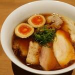 らぁ麺や 嶋 - ☆炭火で炙ったチャーシューが凄い♪(●^o^●)☆
