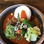 西屯田通りスープカレー本舗 - 昼スパイスカレー@900