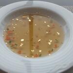 座・ガモール クラシック 鴨台食堂 - スープ