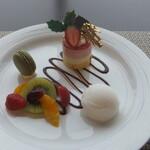 座・ガモール クラシック 鴨台食堂 - デザート