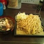 14334165 - 冷やし醤油つけ麺