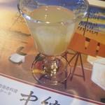 14334933 - 食前酒をリンゴジュースに変更