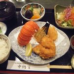 14334952 - シーフードフライ定食、1700円