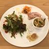 カフェ トラットリア フェリーチェ ピッチョーネ - 料理写真:前菜盛り合わせ。 にんじんのラペ、生ハム、お野菜のソテー、プチシュー、サラダ。