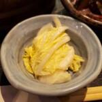 四国郷土活性化 藁家88 - 白菜浅漬け