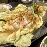 タイ国惣菜屋台料理 ゲウチャイ - 魚のレモン風味蒸し