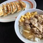 幸楽苑 - 養老牛丼&ギョーザ