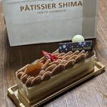 パティシエ シマ - 『モンブランノエル(5cmx16cm)』 2,160円