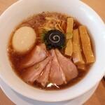 らぁ麺 はやし田 - 特製のどぐろそば1200円