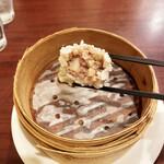 中国菜房 くどう - ご飯の中に肉が包まれていた!!