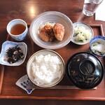 Little chef - 和定食ランチ(さといもコロッケ)