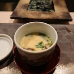 濤﨑 - カニの身入りの茶碗蒸し