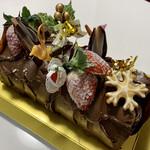 焼き菓子 アンテナ - ブッシュドノエル