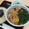 どんどん - 料理写真:モーニング肉 むすび1個[¥420] / わかめ[¥80]