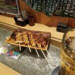 焼鳥 MOZU - おまかせ串。