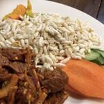 DURBAR - 主食と野菜