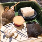 Akasakasushiaoi - 前菜