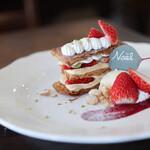 カフェ フラン - 料理写真:苺のミルフィーユ☆