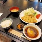 とんかつ料理 さち - 11:45までに入店で100円引き!770円