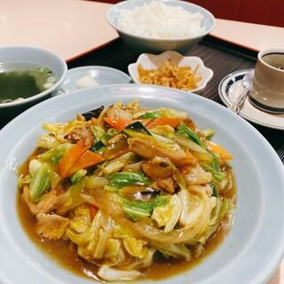 中華レストラン 東東 - とんちゃん定食