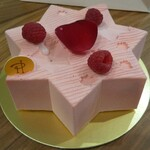 ピエール・エルメ・パリ - 星をイメージしたイスパハンのケーキ