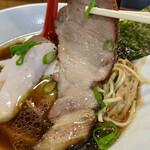 麺屋 むじゃき - 和之家豚の焼豚