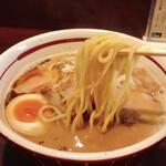 拉麺阿修羅 - あじ玉胡麻らーめん(税込840円)
