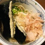 寿庵 - 料理写真:海苔天が好き