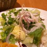 ペッシェドーロ - 生野菜サラダ