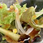 安楽亭 - サラダ