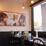 イベリコラーメン 小倉優子 - 店内のポスター