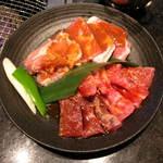 牛庵 八王子店 - おすすめランチ(タン、豚、鶏、カルビ)