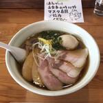 麺堂HOME - 鶏淡麗ら〜めんのしょうゆ味をスペシャルで