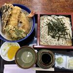 ますだや - 料理写真:天丼セット
