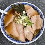いろは食堂  - いろは食堂@鶴岡 中華そば・肉多め(930円)