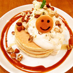 パンケーキデイズ - キャラメルナッツのパンケーキ