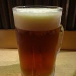 土風炉 - 世界遺産知床の夕陽 緋富士地ビール(大):819円