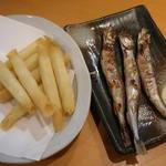 八剣伝 - 料理写真:チーズカリカリ揚げとししゃも
