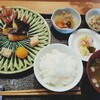 椿 - 料理写真:本日の焼魚膳『マナガツオの柚庵焼き』