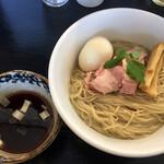 53's ヌードル - 煮干水のつけ麺(900円)+味玉(100円)